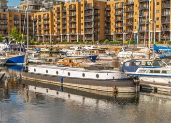 Thumbnail 2 bed houseboat for sale in St Katherine Docks Marina, St Katharine's Way, London
