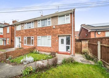 Thumbnail 3 bed semi-detached house for sale in Closefield Grove, Monkseaton, Whitley Bay