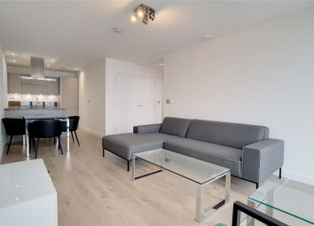 Thumbnail 1 bed flat to rent in Stratosphere, Station Street, London