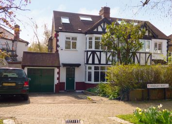 Thumbnail 4 bedroom semi-detached house to rent in Hadley Way, Winchmore Hill, London