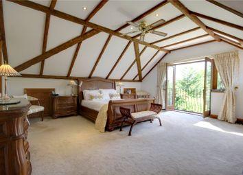 Thumbnail 6 bed detached house for sale in Lyne Lane, Lyne, Chertsey, Surrey