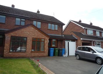 Thumbnail 3 bed semi-detached house to rent in Newport Croft, Brewood
