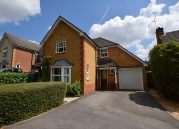 Thumbnail 4 bed detached house for sale in Camus Close, Church Crookham, Fleet