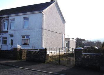 Thumbnail 4 bed semi-detached house for sale in Neuadd Road, Gwaun Cae Gurwen, Ammanford, Carmarthenshire.