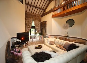 Thumbnail 5 bed barn conversion for sale in Lancaster Lane, Parbold, Wigan