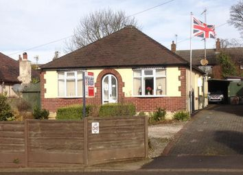 Thumbnail 2 bed detached bungalow for sale in Park Lane, Knypersley, Staffordshire