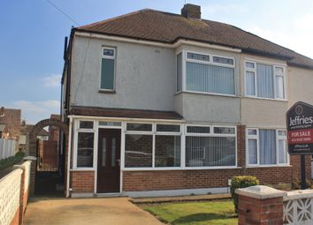 Thumbnail 3 bed semi-detached house for sale in Wicor Mill Lane, Fareham