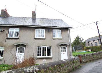 Thumbnail 2 bed end terrace house for sale in Llanfihangel Talyllyn, Brecon