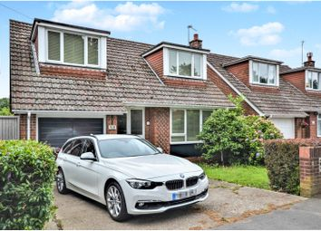 Thumbnail 4 bed detached house to rent in Southleigh Road, Emsworth