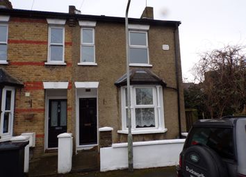 Thumbnail 2 bed end terrace house to rent in Coombe Road, Gravesend