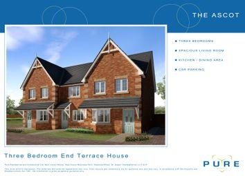 Thumbnail 3 bed end terrace house for sale in Plot 8 Ascot, Cae Topyn, Denbigh