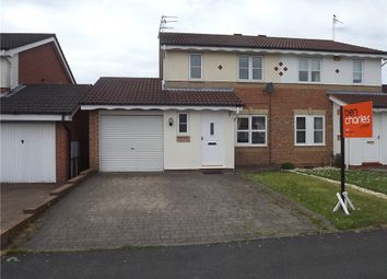 Thumbnail 3 bed semi-detached house to rent in Runcie Road, Bowburn, Durham