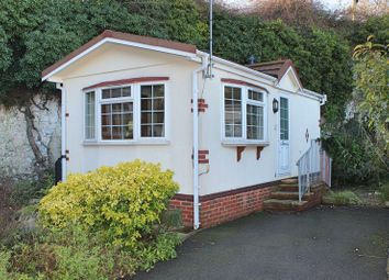 Thumbnail 1 bed mobile/park home for sale in Smugglers Leap, Mount Pleasant, Minster, Ramsgate