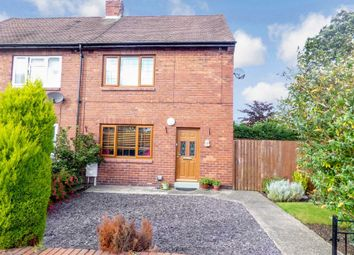 Thumbnail 2 bed semi-detached house for sale in Hill Avenue, Seghill, Cramlington