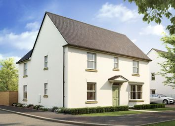 "Thumbnail 4 bedroom detached house for sale in ""Layton"" at West Yelland, Barnstaple"