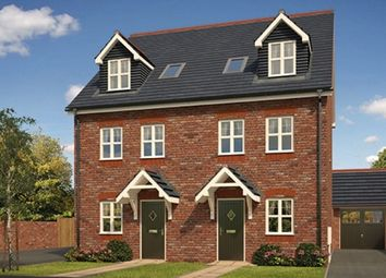 Thumbnail 4 bed semi-detached house for sale in Saighton Camp, Sandy Lane, Chester