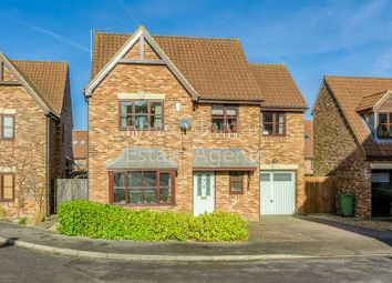 Thumbnail 4 bed detached house for sale in Wroxton Court, Westcroft, Milton Keynes