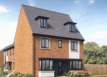 "Thumbnail 5 bed detached house for sale in ""The Regent"" at Rhodfa Lewis, Old St. Mellons, Cardiff"
