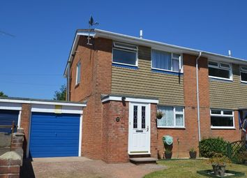 Thumbnail 3 bed semi-detached house for sale in Coventry Close, Feniton, Honiton