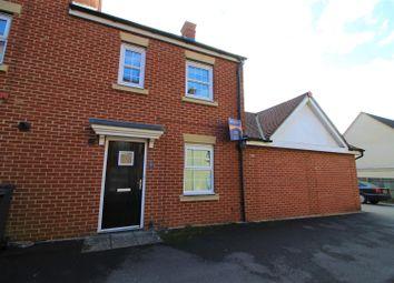 Thumbnail 3 bed end terrace house for sale in Mycroft Road, Haydon End, Swindon