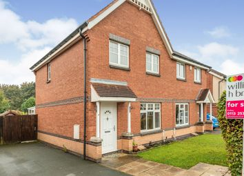 Thumbnail 3 bed semi-detached house for sale in Mclaren Fields, Bramley, Leeds