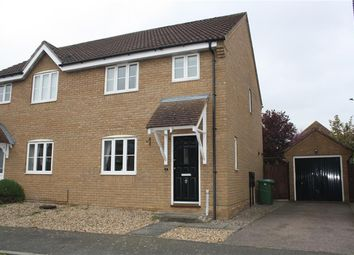 Thumbnail 3 bed semi-detached house for sale in Thomas Bardwell Dr, Bungay, Suffolk