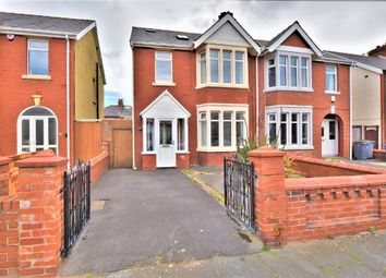 Thumbnail 4 bed semi-detached house for sale in Wetherby Avenue, South Shore, Blackpool, Lancashire