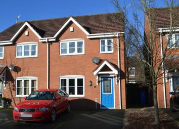 Thumbnail 3 bed semi-detached house for sale in Holm Close, Stoke, Stoke-On-Trent
