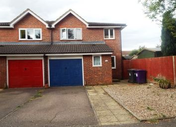 Thumbnail 3 bed semi-detached house to rent in Talisman Street, Hitchin