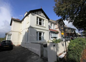 Thumbnail 1 bed flat to rent in Falkland Road, Torquay