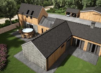 Thumbnail 4 bed barn conversion for sale in Trerice, Newquay