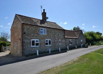 Thumbnail 3 bed detached house for sale in Back Lane, South Creake, Fakenham, Norfolk.