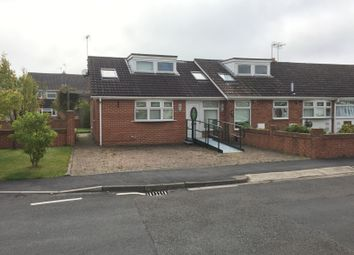 Thumbnail 3 bed semi-detached bungalow to rent in Manor Road, Hurworth