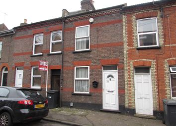 Thumbnail 3 bedroom terraced house to rent in Stanley Street, Luton