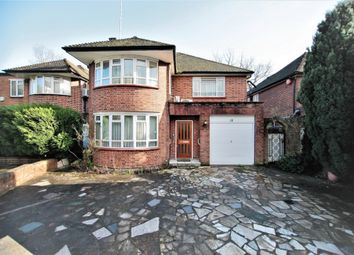 Thumbnail 4 bed detached house for sale in Danescroft Gardens, Hendon