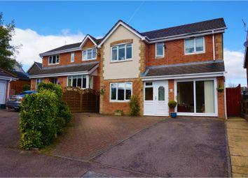 Thumbnail 4 bed detached house for sale in Cae Celyn, Oakdale