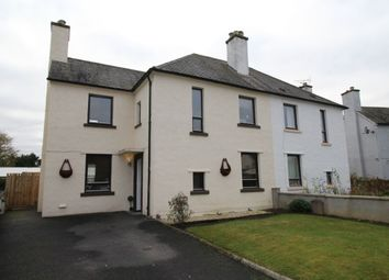 Thumbnail 4 bed semi-detached house for sale in Burns Crescent, Dingwall