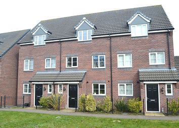 Thumbnail 3 bed town house for sale in College Green Walk, Mickleover, Derby