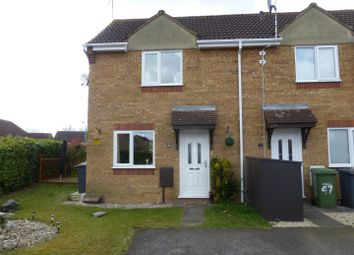 Thumbnail 1 bedroom end terrace house for sale in Hoylake Drive, Farcet, Peterborough