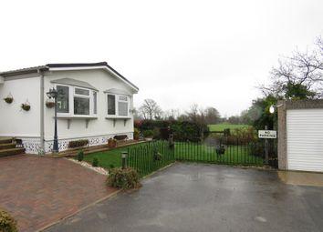 Thumbnail 2 bed mobile/park home for sale in Lion House Park, Mill Road, Hailsham