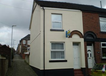 Thumbnail 3 bed end terrace house to rent in Bowden Street, Burslem, Stoke On Trent