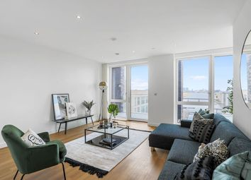 Thumbnail 3 bed duplex for sale in Royal Albert Wharf, The Royal Docks, London