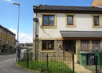 Thumbnail 3 bed end terrace house to rent in Greenlea Court, Huddersfield