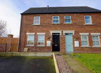 Thumbnail 2 bed end terrace house for sale in Linen Crescent, Bangor