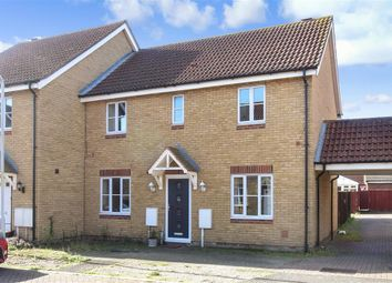Thumbnail 3 bed semi-detached house for sale in Wheler Court, Faversham, Kent