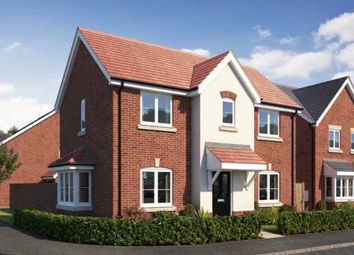 Thumbnail 3 bedroom detached house for sale in Gateway Avenue, Newcastle Under Lyme, Staffordshire