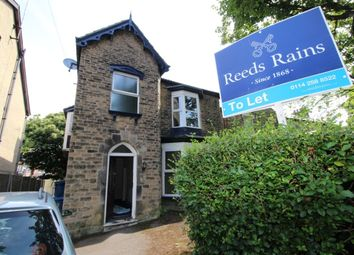 Thumbnail 3 bed detached house to rent in Crescent Road, Sheffield