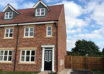 Thumbnail 3 bed town house to rent in Pinter Lane, Gainsborough