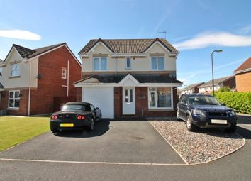 Thumbnail 4 bed detached house for sale in Moorside Drive, Carlisle