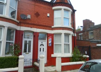 Thumbnail 3 bed end terrace house to rent in Bankburn Road, Tuebrook, Liverpool